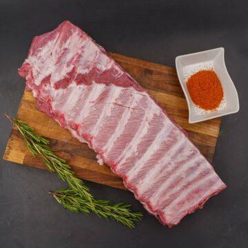 Ribs Saint Luis per BBQ